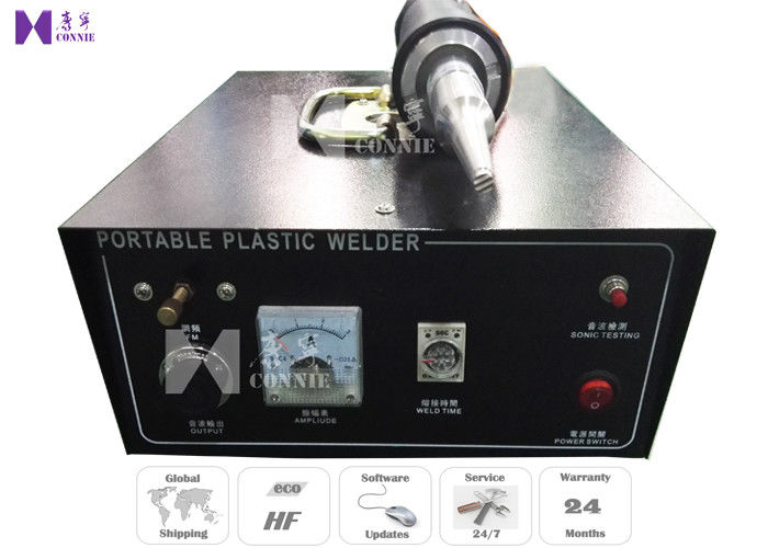 Car Air Flow Outlet Plastic Ultrasonic Spot Welding Machine 500W 28Khz Frequency